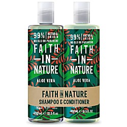 2 in 1 Pack - Shampoo & Conditioner Aloe Vera