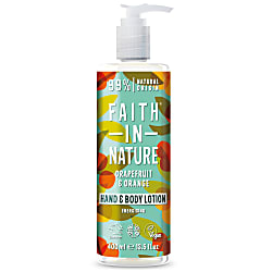 Faith in Nature Hand & Bodylotion - Grapefruit & Sinaasappel