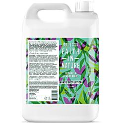 Faith in Nature Hand & Bodylotion - Lavendel & Geranium 5L
