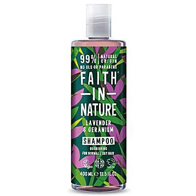 Lavendel & Geranium Shampoo (normaal tot droog haar)